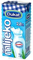 Trajno mlijeko, 2,8% m. m.