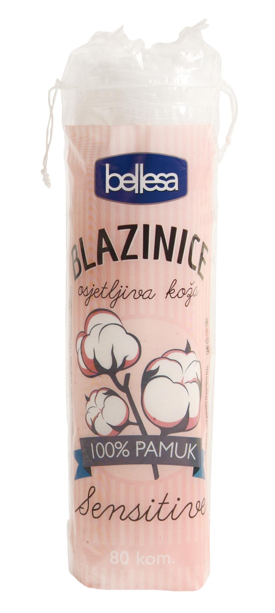 BLAZINICE 80 kom BELLESA - NTL - Narodni trgovački lanac